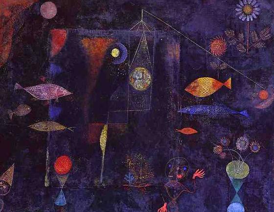 Obras paul klee imagui for Pintura para estanques de peces