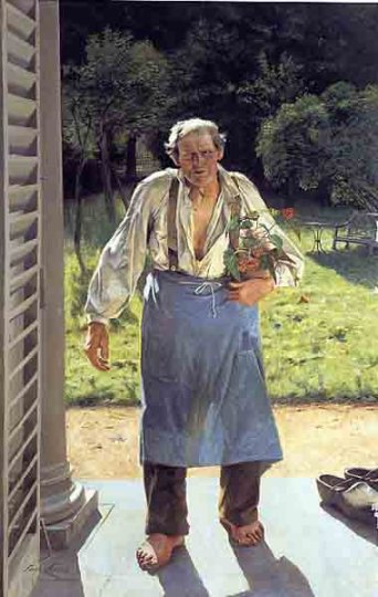 Éste es mi lugar - Kate Racculia - Página 2 Emile-claus-el-viejo-jardinero-museos-y-pinturas-juan-carlos-boveri