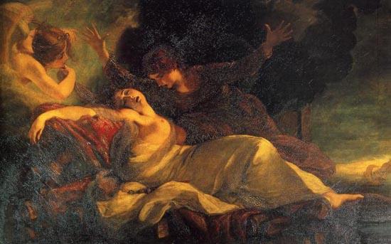 pinturas de los museos... Dido And Aeneas Cave
