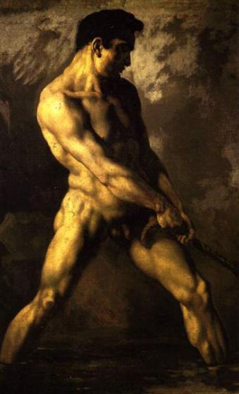 Cuerpos en el tiempo - Página 2 Theodore-gericault-desnudo-masculino-museos-y-pinturas-juan-carlos-boveri