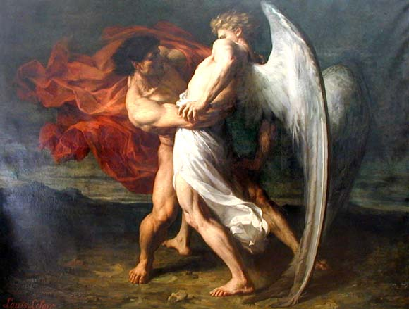 Resultado de imagen para ángel pintura