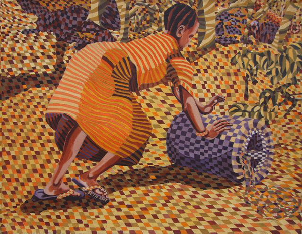 beth kimwele-una chica desde el río