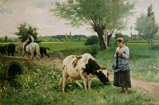 edouard debat ponsan-la vaca bien cuidada
