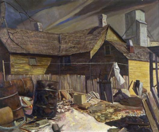 frank sapousek-el callejón