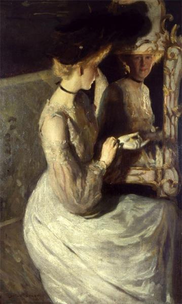 lawton parker-retrato de una muchacha inglesa