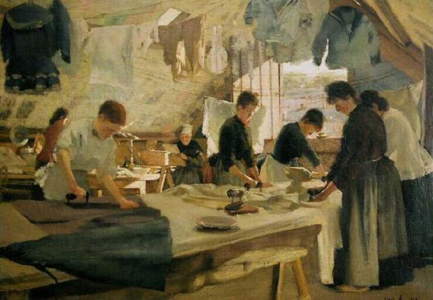 louis joseph anthonissen-taller de planchadoras en trouville