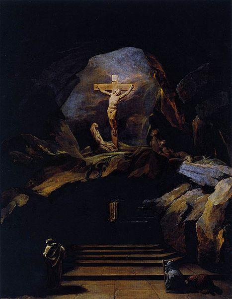 nicolás bernard lepicie-la capilla del calvario de la iglesia saint roch