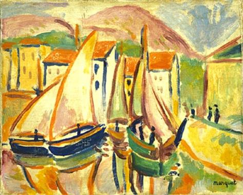 albert marquet-barcos de pesca