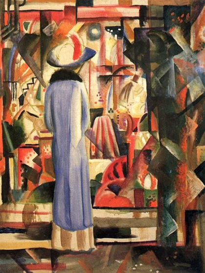 august macke-vidriera luminosa
