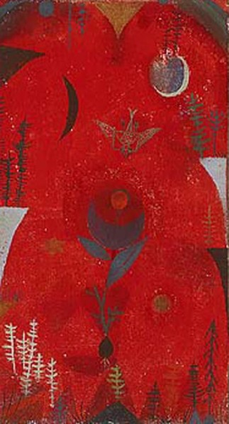 paul klee-mito floral