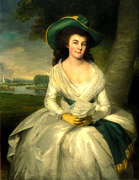 ralph earl-retrato de una dama
