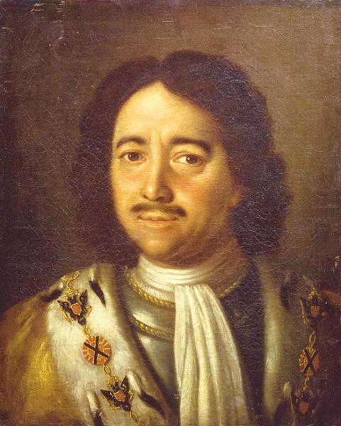aleksey antropov-retrato del emperador pedro el grande I