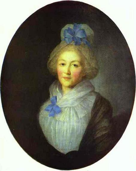 tyodor rokotov-retrato de anna dolgorukaya