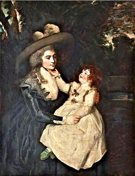 joshua reynolds-señora seaforth y niño