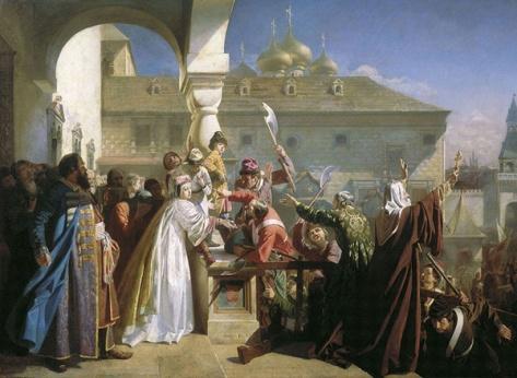 nicolai orenburgsky-revuelta en moscú de 1682