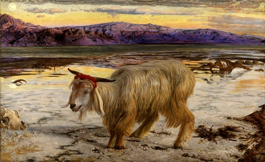 william holman hunt-el chiv emisario
