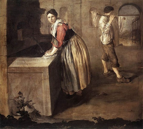 giacomo ceruti-lavandera