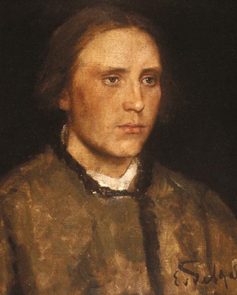 karl von gebhardt-cabeza de mujer joven