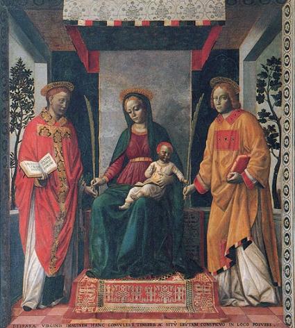vincenzo foppa-retablo de la mercancía