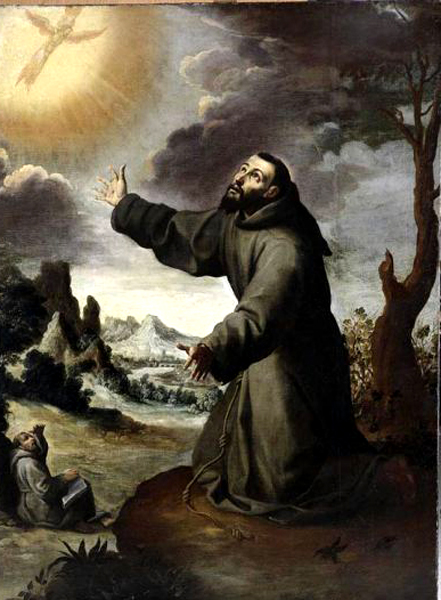 bartolomé murillo-san francisco de asís