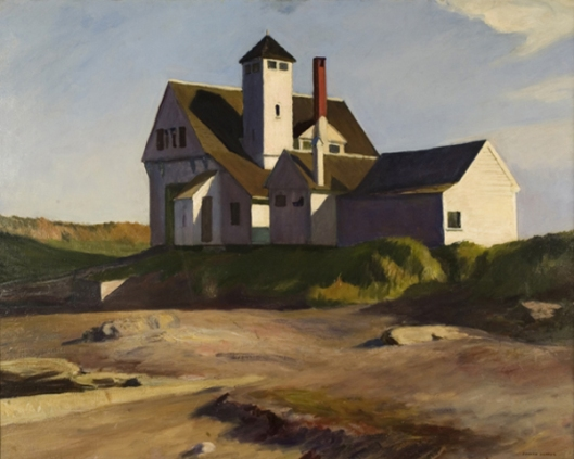 edward hopper-estación guardacostas