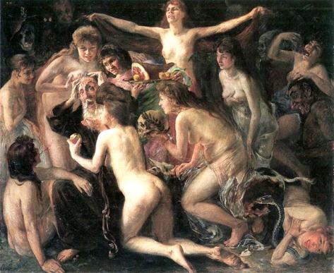 lovis corinth-la tentación de san antonio