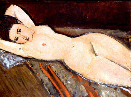 amedeo modigliani-desnudo reclinado