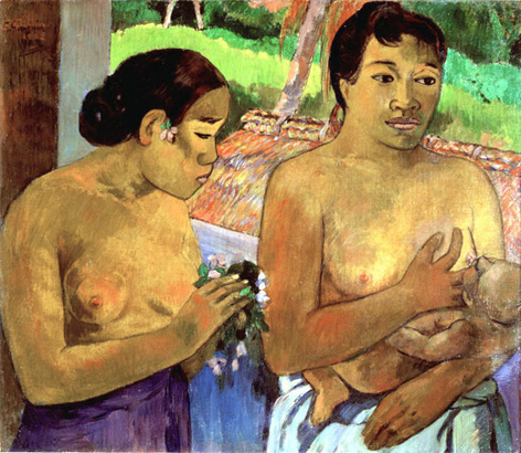 paul gauguin-la ofrenda