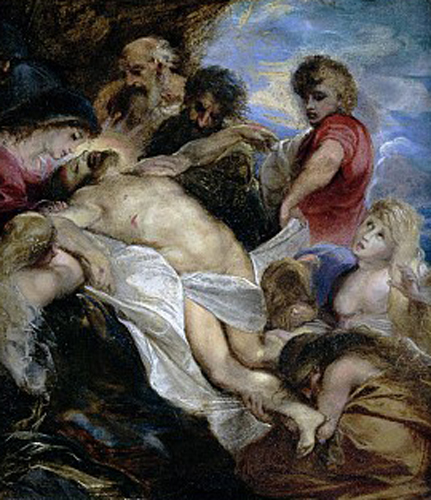 peter paul rubens-la lamentación de cristo