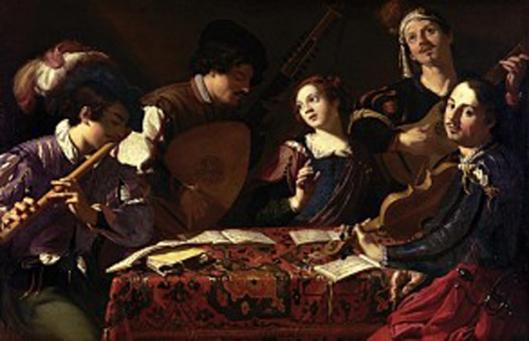 theodoor rombouts-el concierto