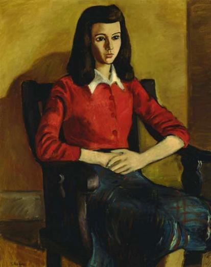 robert goodridge-retrato de mildred goodman