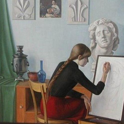 valentín chekmasov-la joven artista