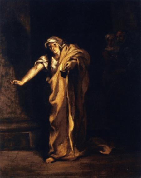 eugene-delacroix-lady-macbet-camina-dormida-museos-y-pinturas-juan-carlos-boveri