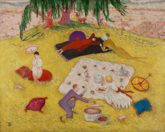 florine stettheimer-picnic en bedford hills