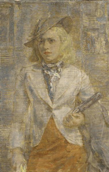 isabel-bishop-una-mujer-joven-museos-y-pinturas-juan-carlos-boveri