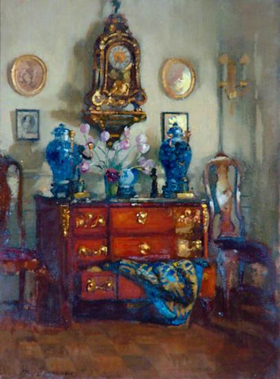 patrick william adam-azul y oro