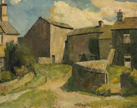 raymond james coxon-granja en una villa de yorkshire