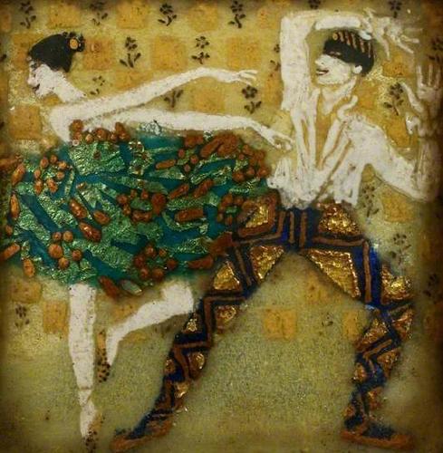 laura knigh y ella naper-dos bailarines