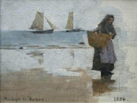 stanhope alexander forbes-estudio de la mujer de un pescador
