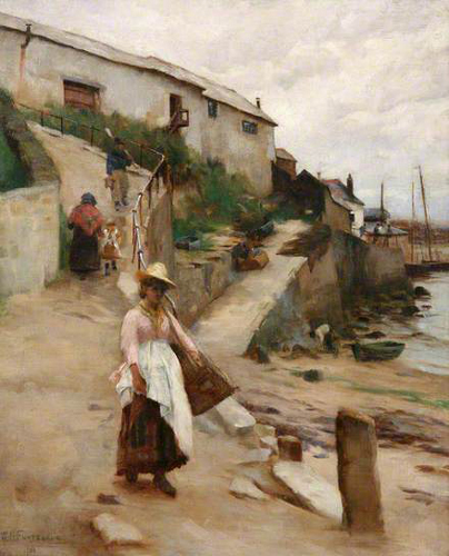 william banks fortescue-el viejo puerto newlyn