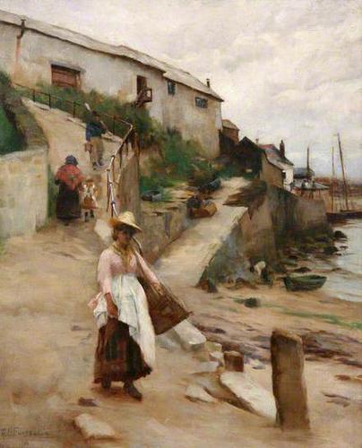 william banks fortescue-el viejo puerto newlyn