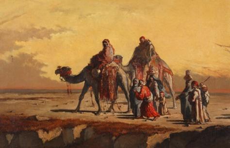 francisco lameyer-escena en el desierto