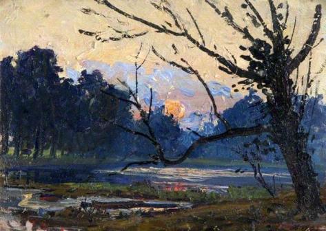 hans iten-puesta del sol