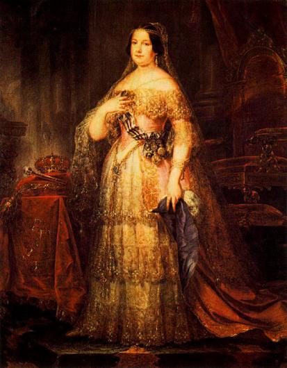 josé gutierrez de la vega-retrato de isabel II