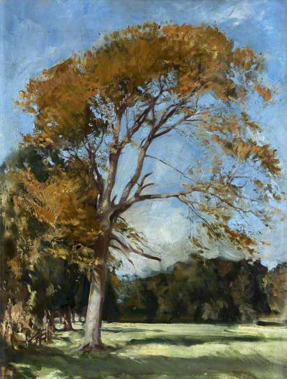 william bruce ranken-el árbol amarillo