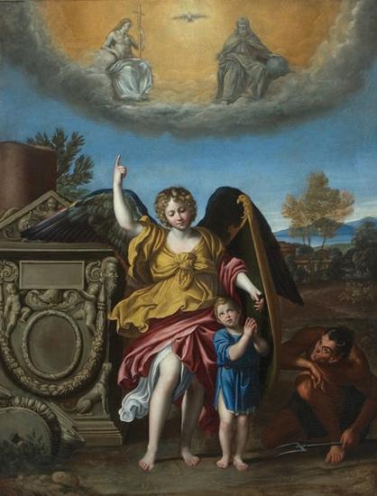 domenico zampini-el ángel guardián
