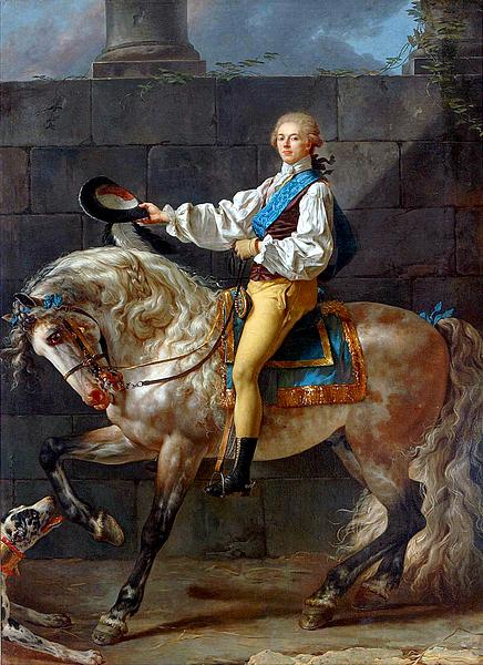 jacques louis david-retrato de stanislav kosta potocki