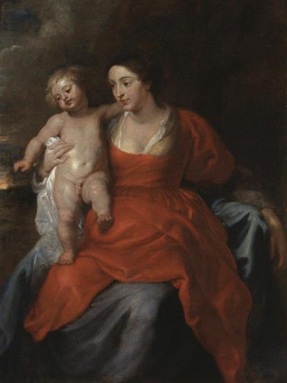 peter paul rubens-madonna y el niño