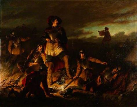 john adam houston-una noche de alarma en el campamento
