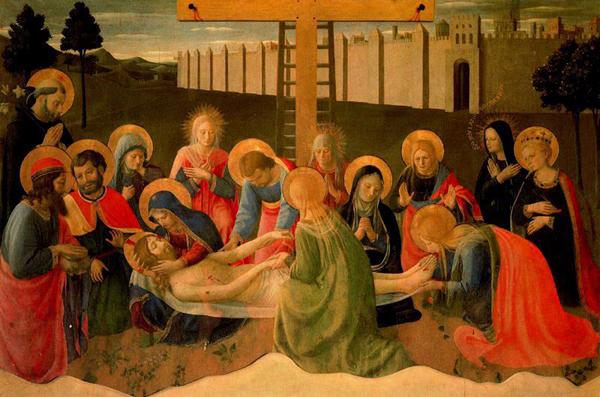 fra angélico-llanto por cristo
